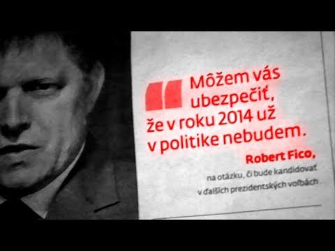 Robert Fico - V roku 2014 už v politike nebudem
