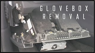 AUDI A3 8V 2013 - How To Remove Glovebox