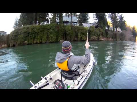 Kayak Fishing for Steelhead