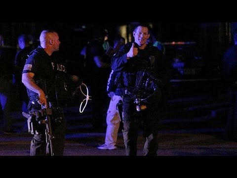 image vidéo اعتقال المشتبه به في تفجيري بوسطن مصابا وحالته خطيرة