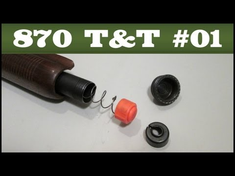 Remington 870 Tips & Tricks #1: Replacing the Spring Retainer with a Follower