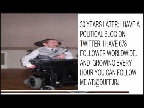 A disabled guy's take on the political world