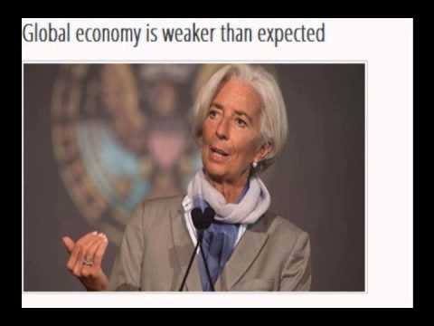 Global economy weaker than envisioned 6 months ago