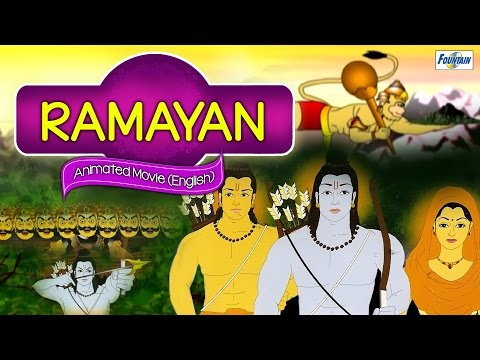 Ramayan Full Movie (english) | Best Animated Devotional Stories For Kids video
