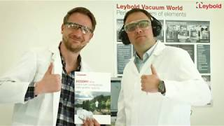 Leybold ECODRY Plus - quiet and clean vacuum pump for mass spectrometers