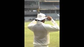 Rohit sharma during ranji match in wankhede