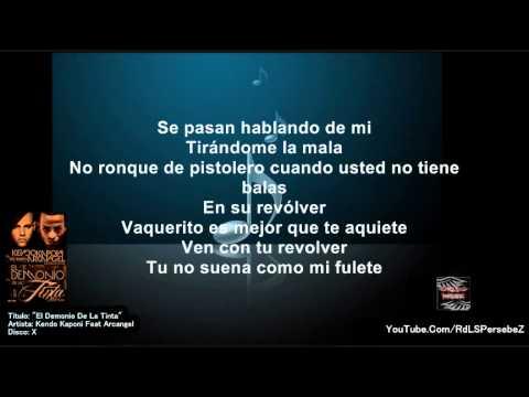 El Demonio De La Tinta (Letra) - Arcangel  &  Kendo Kaponi