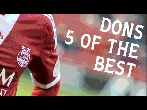 SPL Five Of The Best is your chance to relive five of your team's top strikes from the 2012-13 campaign. Here are five of the best Aberdeen goals, featuring strikes from Niall McGinn, Rory...