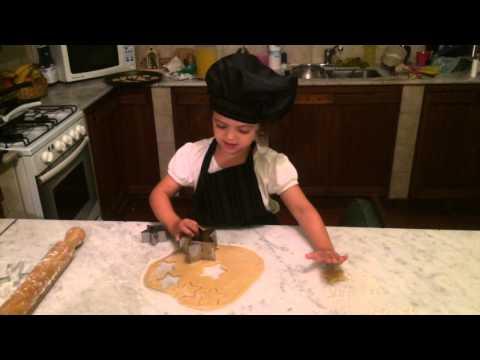 Haciendo galletitas
