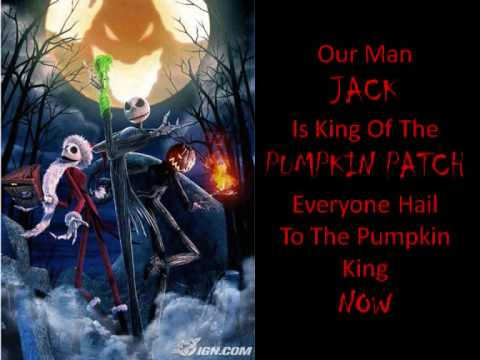 ... - This Is Halloween (Nightmare Before Christmas Lyrics) - YouTube