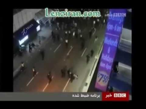 واکنش  سکسی ناجیه غلامی مجری تلویزیون بی بی سی  به بوسه thumbnail