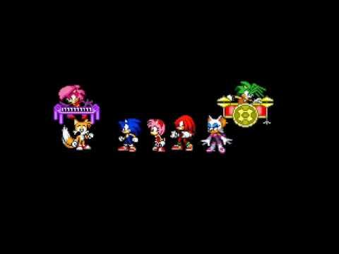 Sonic team sings right round