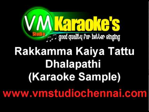 Thalapathi Rakkamma Kaiya Tattu Karaoke