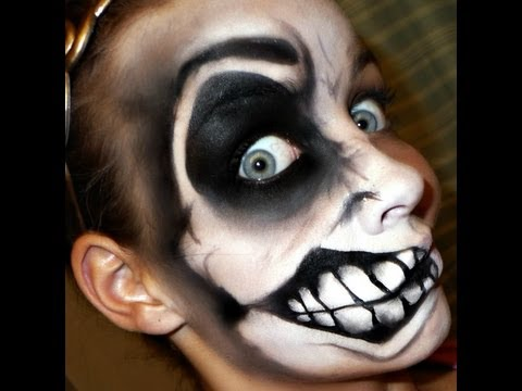 Halloween Series 2012: Crazy Face REDONE full video tutorial