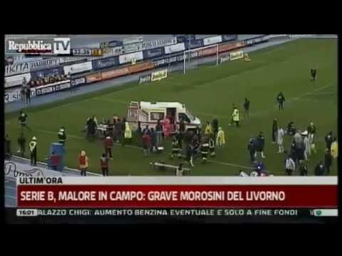 Piermario Morosini Collapse in match between Pescara and Livorno and die!