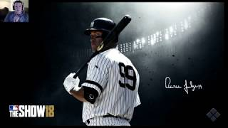FIRST GAMES ON THE ROAD TO THE SHOW! MLB THE SHOW 18