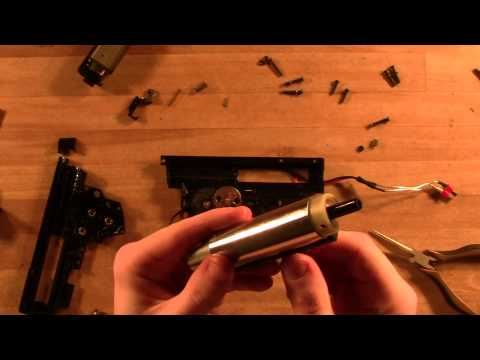 Ares G36 Disassembly and Reassembly Guide  -ASTKilo23-