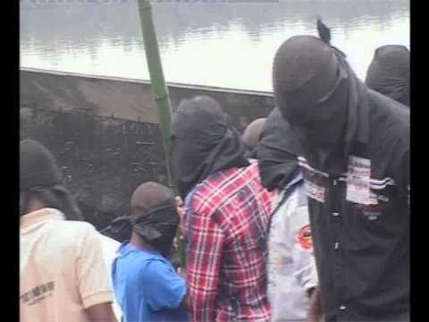 Inside dreaded bakassi boys execution zone