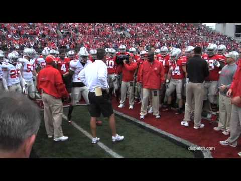 Ohio State football circle drill before 2012 Spring Game