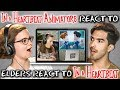 IN A HEARTBEAT ANIMATORS REACT TO ELDERS REACT TO IN A HEARTBEAT