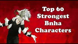 Top 60 Strongest Boku no hero academia Characters
