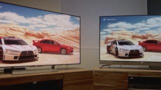 Sony XE9005 (XE90) gegen Philips POS901F: LED-LCD gegen OLED