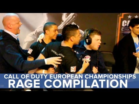Rage Compilation - Call of Duty European Championships - Eurogamer