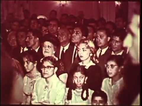 Pakistani President Ayub Khan visits America - A rare video (1961)