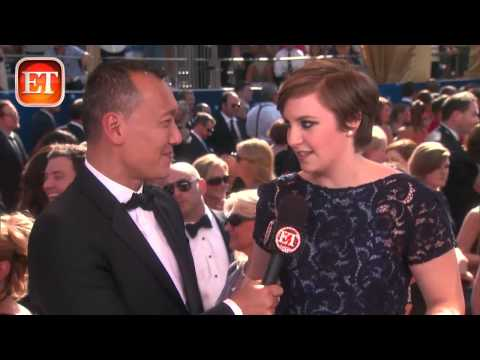Emmys '12: Lena Dunham Wears the Queen's Carpet