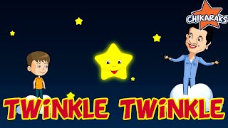 Twinkle Twinkle Little Star  | Nursery Rhymes For Children | Chikaraks