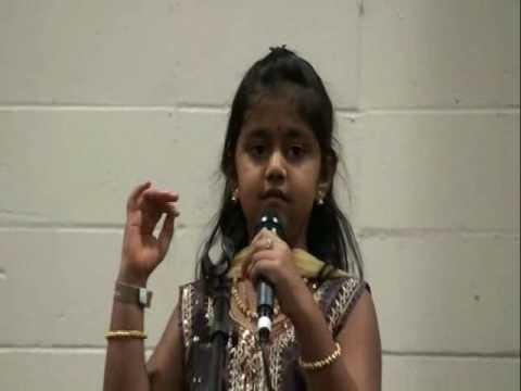 Saanika - Akka Idol 2010 Semi Finals - Ullasada Hoomale : Cheluvina Chittara (kannada)   Wkc 2010 video