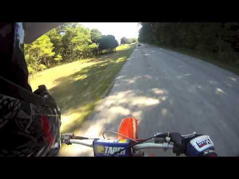 KTM 125sx Top Speed Runs