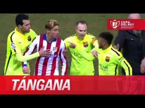 Tángana entre Neymar y Fernando Torres, causa la expulsión de Gabi