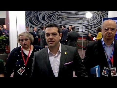 Greece's Tspiras set for showdown talks with Germany's Merkel