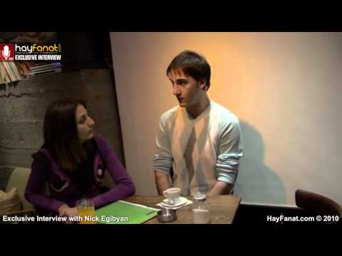 Nick Egibyan ► Exclusive HayFanat Video Interview [HD] klip izle