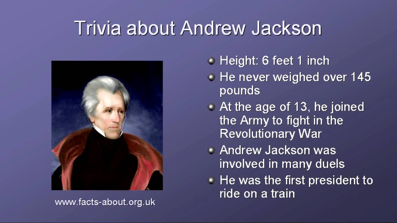 a review of the presidency of andrew jackson As president of the united states of america, andrew jackson invited change, increased patriotic pride and introduced democracy as he lead the country.