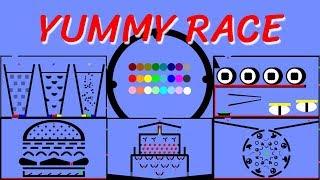 24 Marble Race EP. 3: Yummy Race