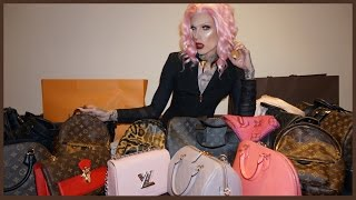 LOUIS VUITTON FALL 2016 HAUL | Jeffree Star