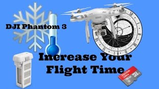 DJI Phantom 3 Firmware Upgrade Re: Better Battery Management in Cold Weather Flights
