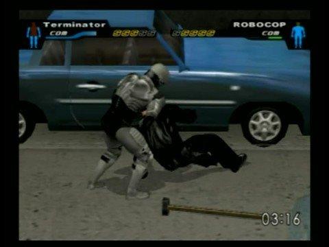 Terminator vs. Robocop CAWS