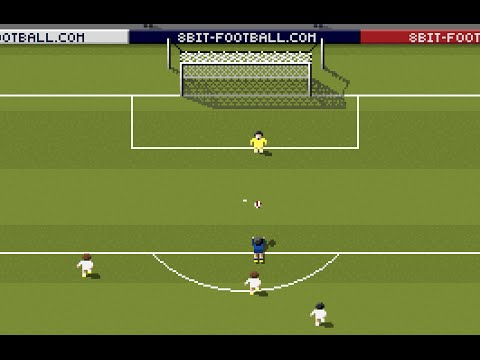 Robin Van Persie goal against Spain in 8bit