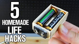 5 Homemade DIY Life Hacks
