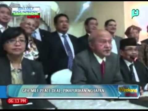 WeekendNews: GPH-MILF peace deal, pinapurihan ng Japan