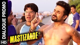 Running with protection | Mastizaade | Dialogue Promo