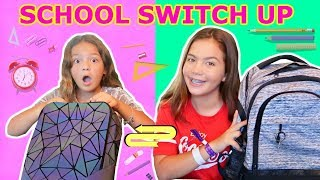 BACK TO SCHOOL SWITCH UP CHALLENGE | SISTER FOREVER