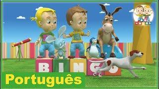 BINGO | Canções Creche Pré-Escolar | BBtwins | Vídeos HD | Português