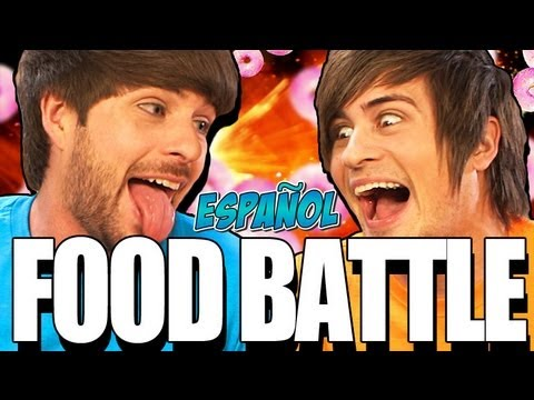 FOOD BATTLE 2012! (EN ESPAÑOL)
