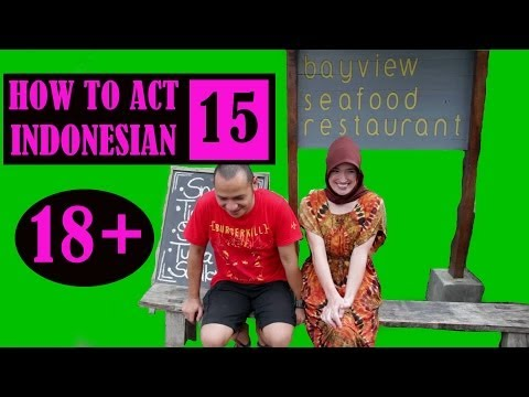 How To Act Indonesian 15 (18+) video