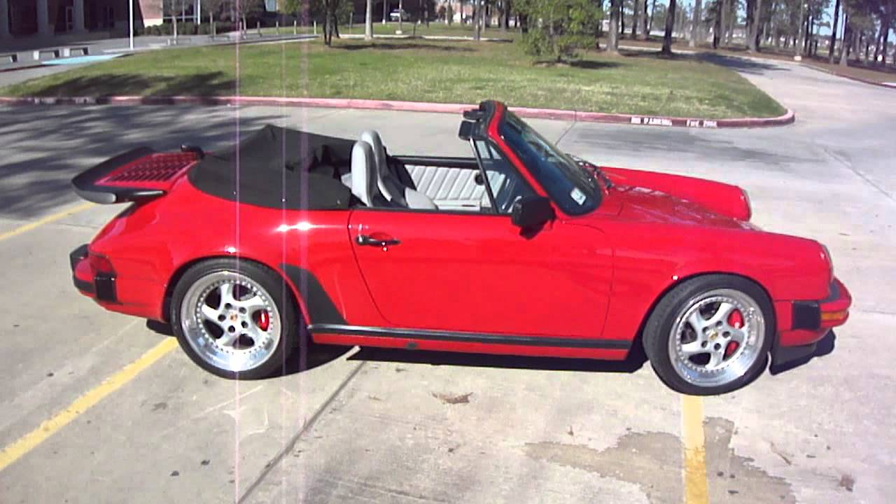 1988 Porsche 911 >> 1988 Porsche 911 Cabriolet - Flawless Example of the Late 1980's! - YouTube