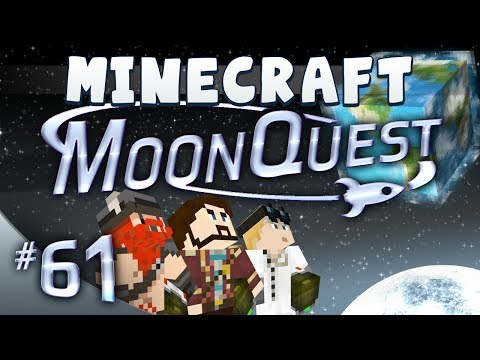 Minecraft Galacticraft - MoonQuest 61 - Get in the back of the Van